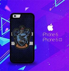 Harry Potter Knit Ravenclaw Wall Crest Logo F0185 fundas iPhone 6, iPhone 6S