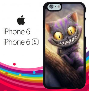Cheshire Cat Alice in Wonderland fundas iPhone 6, iPhone 6S