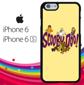 Scooby Doo logo Z0040 fundas iPhone 6, iPhone 6S