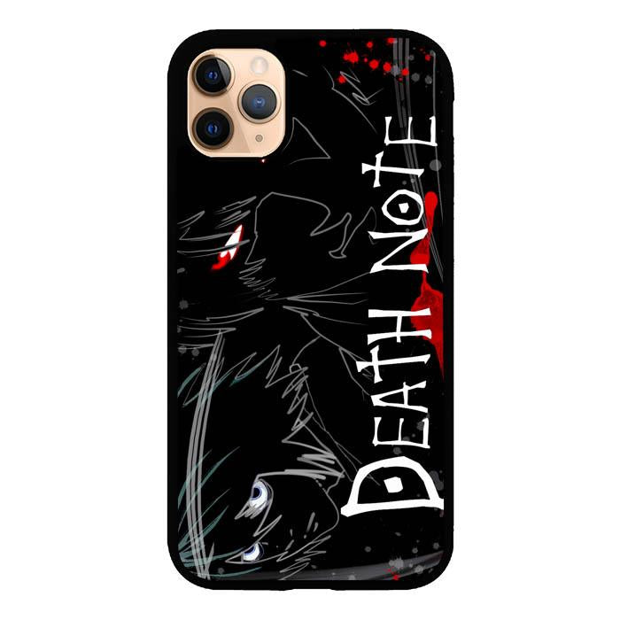coque custodia cover case fundas hoesjes iphone 11 pro max 5 6 6s 7 8 plus x xs xr se2020 pas cher X8725 Death Note Anime Z0463