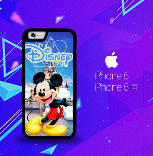 mickey mouse disney Z0548 fundas iPhone 6, iPhone 6S