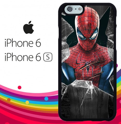 amazing spider man Z0928 fundas iPhone 6, iPhone 6S