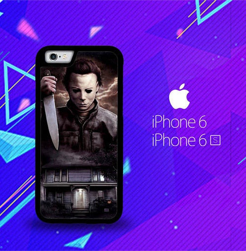 Michael Myers Halloween Z1319 fundas iPhone 6, iPhone 6S