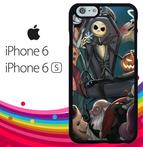 Nightmare Before Christmas Z1482 fundas iPhone 6, iPhone 6S