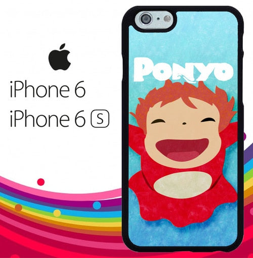 Ponyo Small Z3542 fundas iPhone 6, iPhone 6S