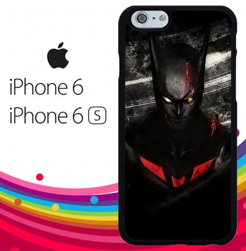 Batman Red Black Z3910 fundas iPhone 6, iPhone 6S