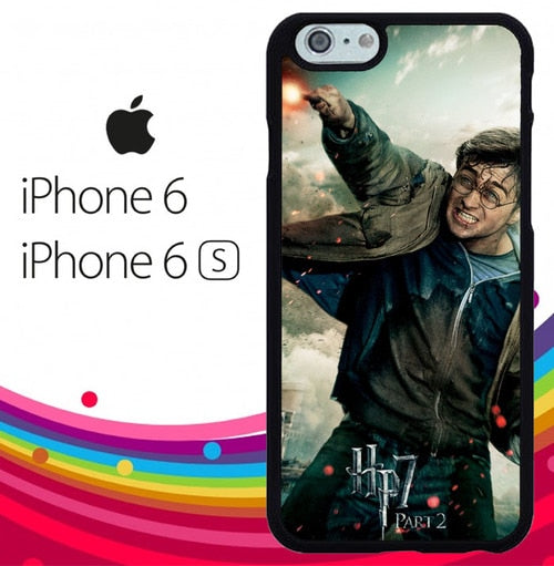 harry potter and the deathly hallows 2 Z4392 fundas iPhone 6, iPhone 6S