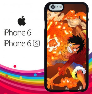 one piece monkey d luffy Z4455 fundas iPhone 6, iPhone 6S