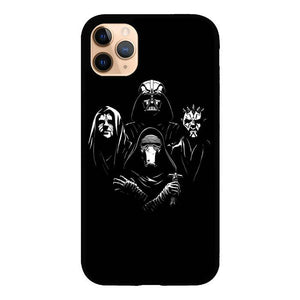 coque custodia cover case fundas hoesjes iphone 11 pro max 5 6 6s 7 8 plus x xs xr se2020 pas cher X8706 Dark Star Wars Z4512