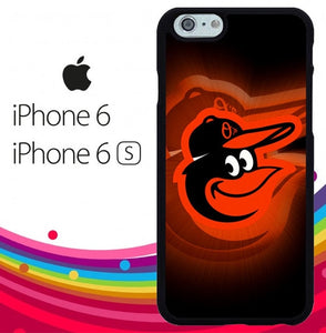 Baltimore Orioles Z4822 fundas iPhone 6, iPhone 6S