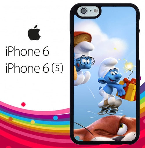 the smurfs Z4885 fundas iPhone 6, iPhone 6S