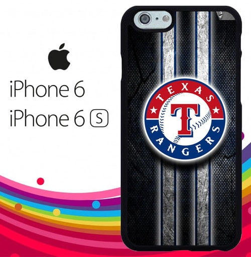 Texas Rangers Z5197 fundas iPhone 6, iPhone 6S