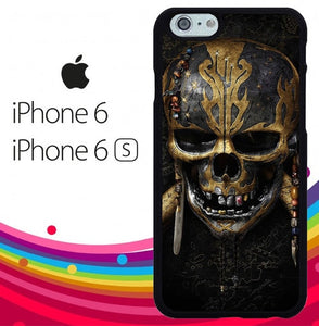 the pirates of caribbean salazar revenge Z5198 fundas iPhone 6, iPhone 6S