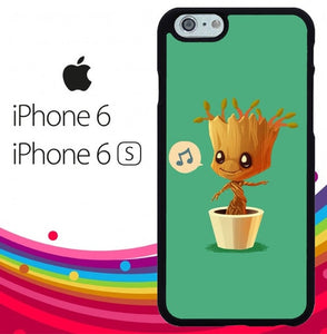 Baby Groot Z5212 fundas iPhone 6, iPhone 6S