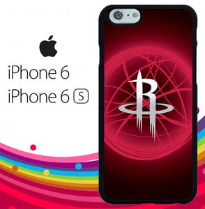 Houston Rockets Logo Z5339 fundas iPhone 6, iPhone 6S