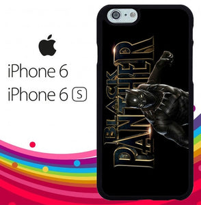 marvel black panther Z7069 fundas iPhone 6, iPhone 6S