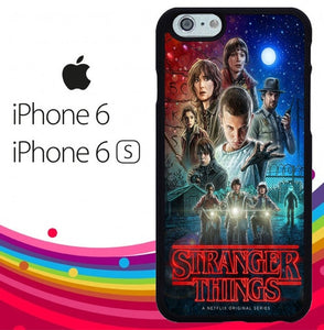 stranger things Z7166 fundas iPhone 6, iPhone 6S