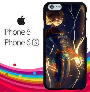 Captain marvel Z4127 fundas iPhone 6, iPhone 6S