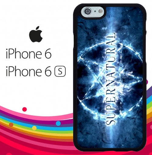 Supernatural logo Z4490 fundas iPhone 6, iPhone 6S