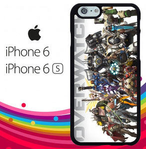 overwatch characters Z4706 fundas iPhone 6, iPhone 6S