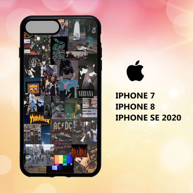 fundas iphone 5 6 7 8 plus x xs xr case S8819 emo wallpaper iphone 81iF7