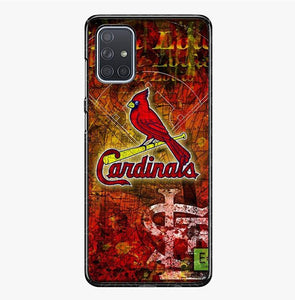 coque custodia cover fundas hoesjes j3 J5 J6 s20 s10 s9 s8 s7 s6 s5 plus edge B36191 St. Louis Cardinals FJ0983 Samsung Galaxy A71 Case