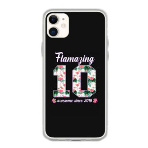 flamazing awesome since 2010 fundas iphone 11