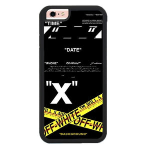 off white X00209 fundas iPhone 6, iPhone 6S