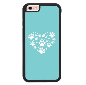 Heart Made Of Paws X00223 fundas iPhone 6, iPhone 6S
