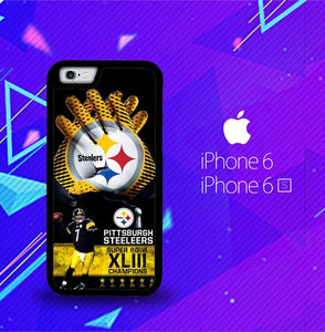 Pittsburgh Steelers NFL X4840 fundas iPhone 6, iPhone 6S
