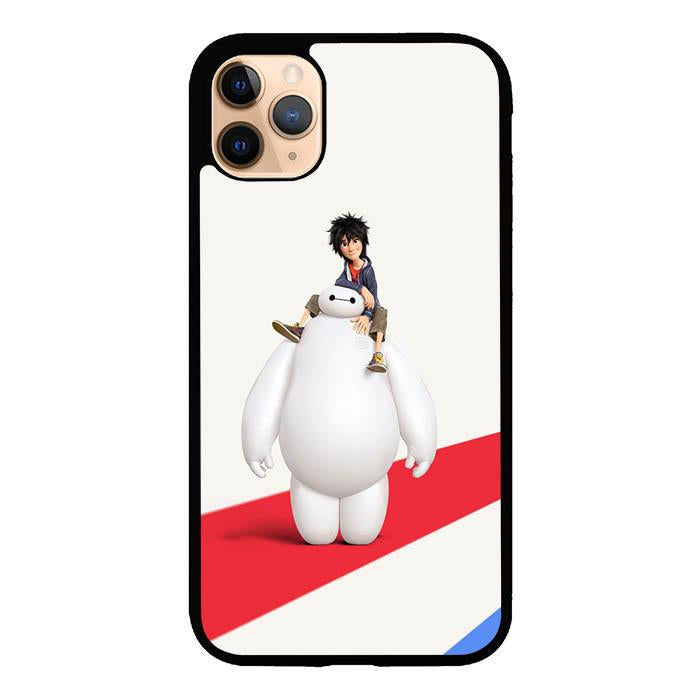 coque custodia cover case fundas hoesjes iphone 11 pro max 5 6 6s 7 8 plus x xs xr se2020 pas cher X8445 Big Hero 6 Cute X4910