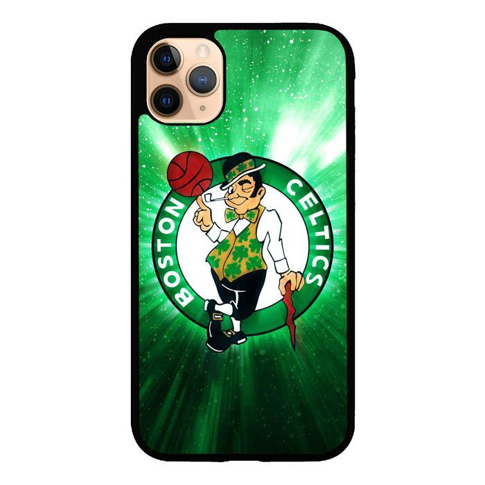 coque custodia cover case fundas hoesjes iphone 11 pro max 5 6 6s 7 8 plus x xs xr se2020 pas cher X8505 Boston Celtics X4984