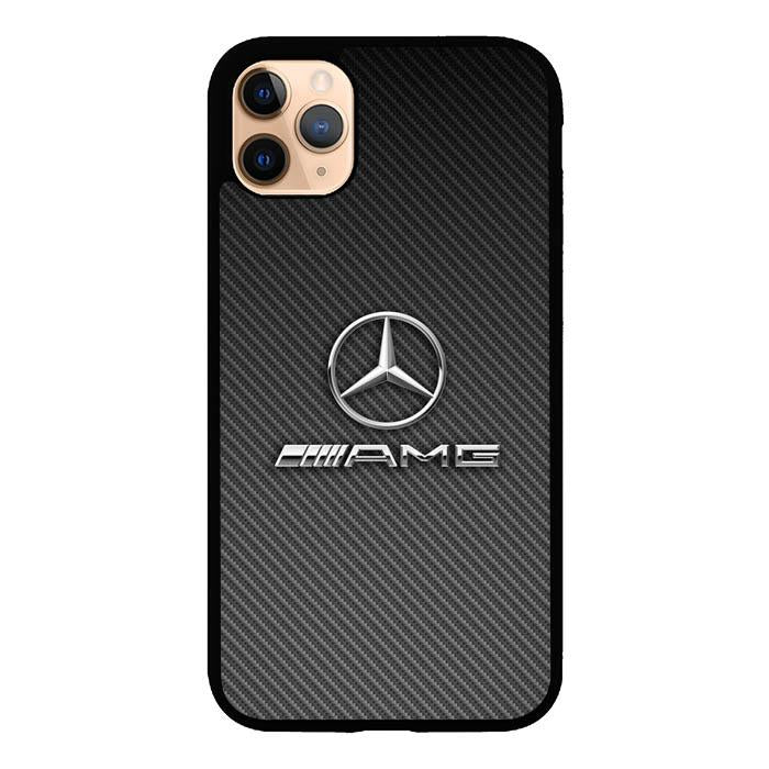 coque custodia cover case fundas hoesjes iphone 11 pro max 5 6 6s 7 8 plus x xs xr se2020 pas cher X8550 Carbon Mercedes AMG X5035