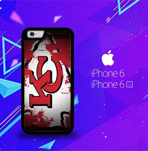 Kansas City Chiefs X5607 fundas iPhone 6, iPhone 6S