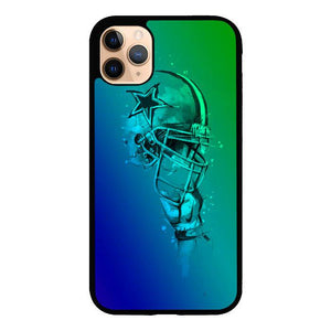 coque custodia cover case fundas hoesjes iphone 11 pro max 5 6 6s 7 8 plus x xs xr se2020 pas cher X8654 Cowboys helmet falling X5639