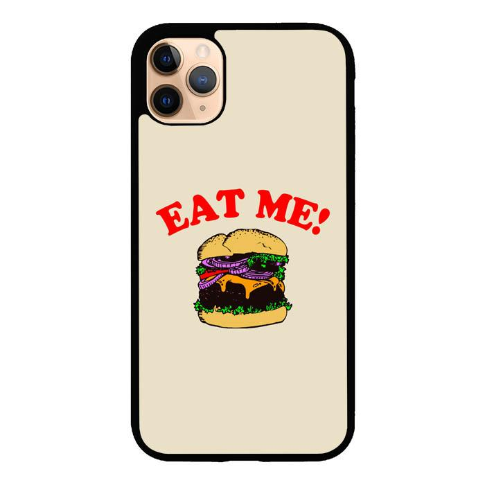 coque custodia cover case fundas hoesjes iphone 11 pro max 5 6 6s 7 8 plus x xs xr se2020 pas cher X8824 Eat Me Cheeseburger X5665