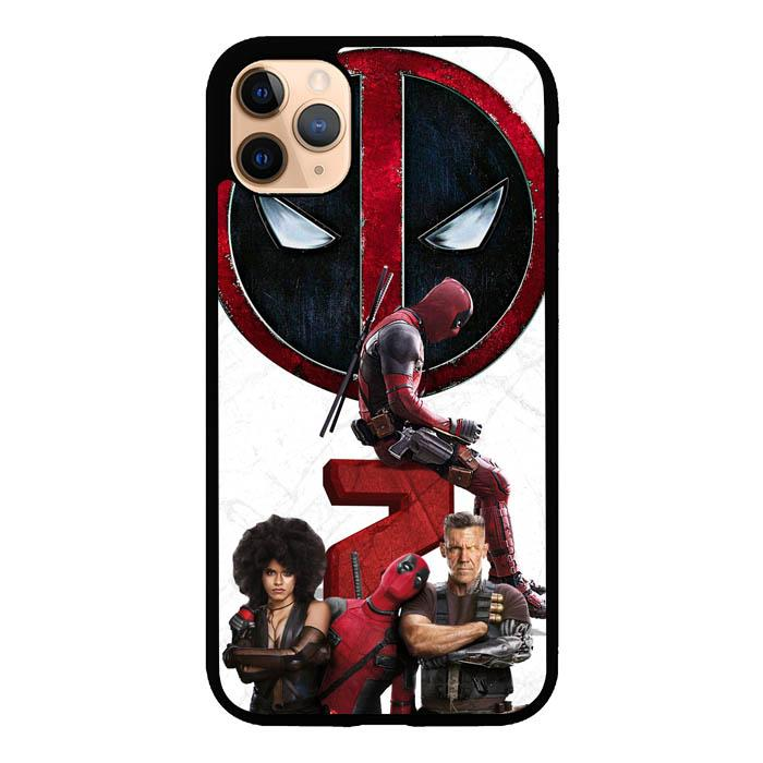 coque custodia cover case fundas hoesjes iphone 11 pro max 5 6 6s 7 8 plus x xs xr se2020 pas cher X8717 Deadpool 2 X8014