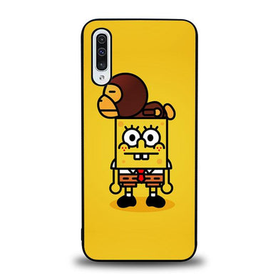 coque custodia cover fundas hoesjes j3 J5 J6 s20 s10 s9 s8 s7 s6 s5 plus edge B36073 Spongebob And Baby Milo H0059 Samsung Galaxy A50 Case