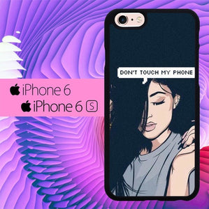 Dont Touch My Phone Kylie Jenner L0008 fundas iPhone 6, iPhone 6S