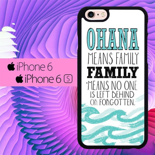 Ohana Means Family L0010 fundas iPhone 6, iPhone 6S