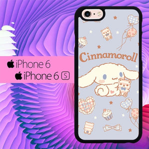 Cinnamorol Cute Background 0125 fundas iPhone 6, iPhone 6S