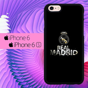 Real Madrid Simple L0243 fundas iPhone 6, iPhone 6S