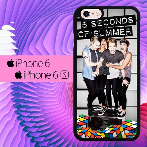 5 seconds of summer L0408a fundas iPhone 6, iPhone 6S