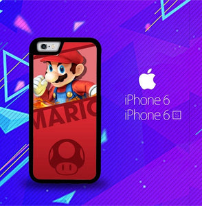 Super Mario Bros L0440 fundas iPhone 6, iPhone 6S