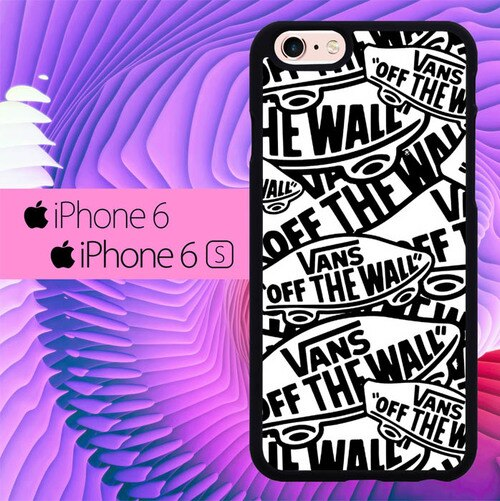 Vans Off The Wall Logo L0458 fundas iPhone 6, iPhone 6S