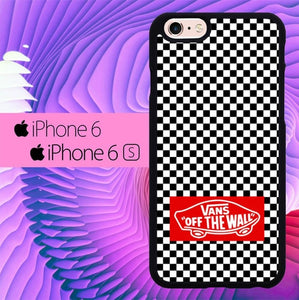 Vans Off The Wall Wallpaper L0460 fundas iPhone 6, iPhone 6S