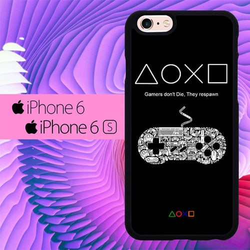 Gamers Button L0506 fundas iPhone 6, iPhone 6S