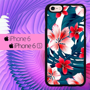 The Summer Flowers Tropical L0584 fundas iPhone 6, iPhone 6S