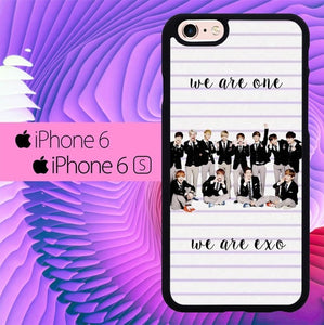 We Are EXO L0591 fundas iPhone 6, iPhone 6S