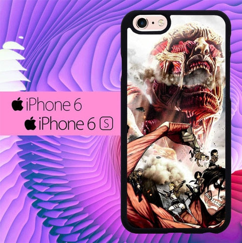 attack on titan L0599a fundas iPhone 6, iPhone 6S